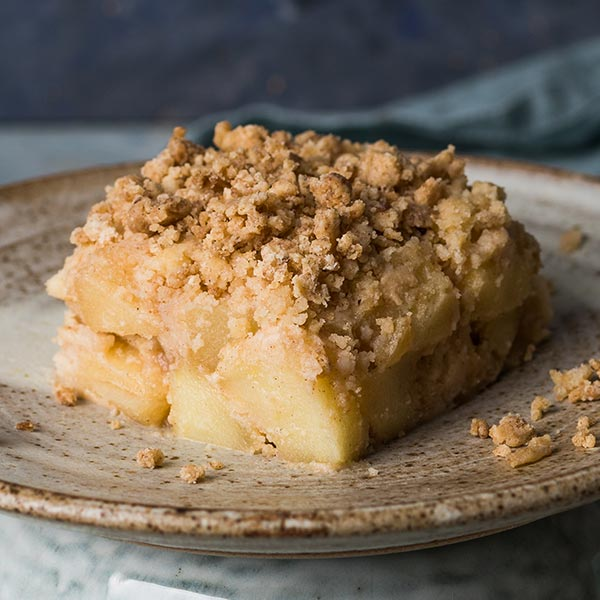 apple and cinammon crumble