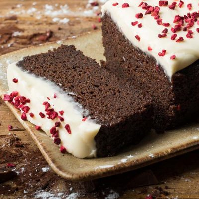 vegan chocolate beetroot cake